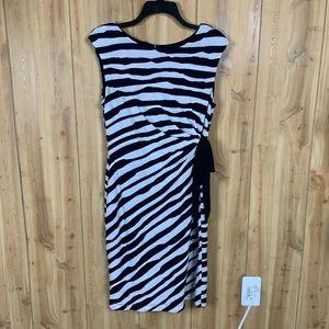 Striped Sheath Dress